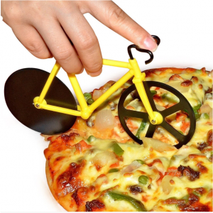 1 PC Stainless Steel Bicycle Pizza Cutter